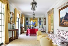 Decor Inspiration: Georgian Home by Christopher Maya, Locust Valley, Long Island Long Island, Best Interior, Interior Design, Classic Library, Home Library Design, Custom Sofa, Home Libraries, Georgian Homes, Upholstered Sofa