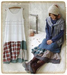Robe Mori Girl Patchwork