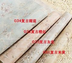 56.00$  Buy here - http://alihla.worldwells.pw/go.php?t=1538248769 - High-end wallpaper American country Europe type restoring ancient ways rural bedroom The blue Mediterranean non-woven wallpaper 56.00$