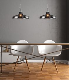 A stunning pendant light made using aluminium with a smoked glass finish. A great choice for modern lighting in the home, particularly above kitchen islands or dining tables.