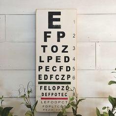 Inspiring Quote Chalkboard Eye Chart Template Canvas Print