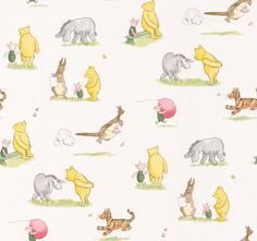 Winnie and Friends Multi wallpaper by Jane Churchill