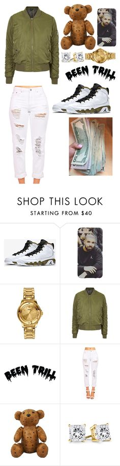 """""""KashKouture."""" by kyah35 ❤ liked on Polyvore featuring Retrò, Versus, Topshop, Been Trill and MCM"""