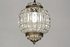 Hanglamp 71599: Landelijk, Rustiek, Klassiek, Eigentijds Klassiek Guest Toilet, Kugel, Messing, Girl Room, Home Deco, Interior Inspiration, Chandelier, Ceiling Lights, Lighting
