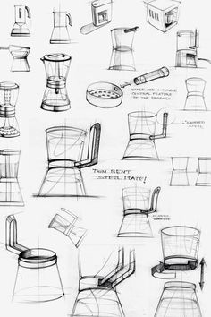 coffee pot sketches