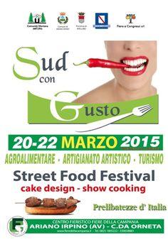 News di Spaghetti italiani - 20-22 Marzo - Ariano Irpino (AV) - SUD con Gusto - IV Edizione - La Fiera Nazionale dedicata ai sapori del Sud Italia