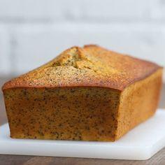 Gluten-Free Lemon Poppy Seed Bread Loaf