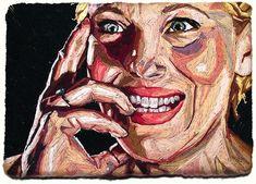 El arte bordado de Julie Sarloutte.                   — JULIE SARLOUTTE