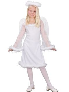 Check out Heaven Sent Childrens Costume - Girls Angel Costumes from Anytime Costumes
