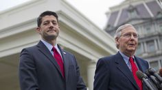 Paul Ryan and Mitch McConnell surrender unconditionally