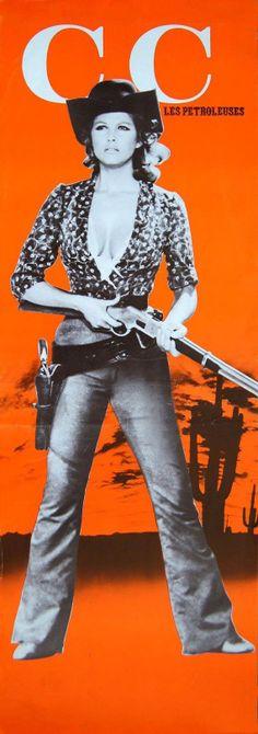 Claudia Cardinale - Les pétroleuses, 1971.