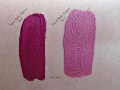 Golden Rose - Longstay Liquid Matte Lipstick 05 (left one)