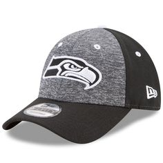 580cbb28a38 NEW ENGLAND PATRIOTS · Seattle Seahawks New Era Youth The League Shadow 2 9FORTY  Adjustable Hat – Heathered Black