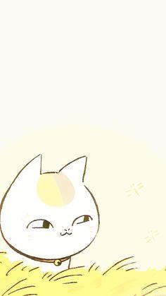 Natsume Yuujinchou Sometimes I wonder if you walk around as a cat Manga Art, Manga Anime, Anime Art, Natsume Takashi, Hotarubi No Mori, Chinese Cartoon, Natsume Yuujinchou, Maneki Neko, Anime Kunst