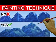 Do's and Don't on Painting Mountains by JM Lisondra - YouTube