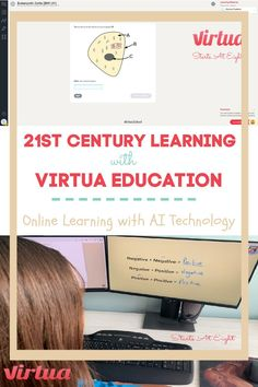 21st Century Learning with Virtua Education is an online secular homeschool curriculum that uses AI to customize a learning path to your child's knowledge.