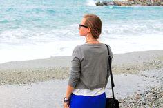 Badestrand Monterosso an der ligurischen Küste von Italien Cinque Terre, Strand, Drawstring Backpack, Fashion, Italy, Vacation, Moda, La Mode, Drawstring Backpack Tutorial