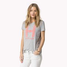 Tommy Hilfiger H T-shirt - light grey htr (Grey) - Tommy Hilfiger T-Shirts - main image