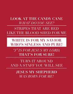Modern Bible Verse Prints by IekelRoadDesign Christmas 2014, All Things Christmas, Christmas Gifts, Christmas Recipes, Christmas Ideas, Candy Cane Poem, Candy Canes, Catholic Kids, What Do You See