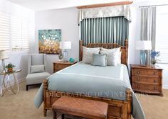 Beautiful Bedroom designs by Decorating Den Interiors. Want this look? Call Decorating Den Interiors by Julie Ann to set up your FREE consultation 651-504-2080. #Design #bedroom #home #decorating #decor