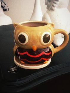 Owl mug!