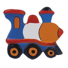 tirador pomo de mueble tren ceramica pintada a mano para cajonera y armario comprar tienda venta online 346tr