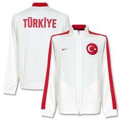 Chaqueta N98 Auténtica de Turquía 2014-2015 - Rojo Blanco Sudaderas 8f47f92fda3