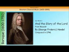 ▶ 1. And The Glory Of The Lord - Handel (GCSE Music Edexcel) - YouTube
