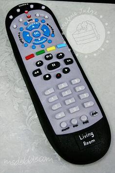 TV Remote Cake