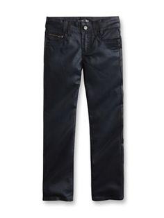 fc7aaff0f08ba Slim Jeans  14.95 5-pocket slim-fit jeans in washed stretch denim ...