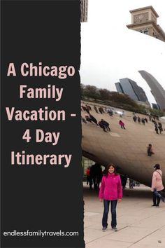This 4 day Chicago itinerary is perfect for families traveling with kids. Make the most of your vacation with these children-focussed ideas! #FamilyVacation #Chicago #Itinerary Best Family Vacation Spots, Couples Vacation, Visit Chicago, Chicago City, Travel With Kids, Family Travel, Bucket List Family, City Pass, Lake Michigan