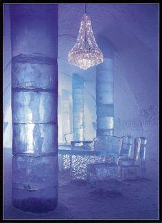 "False info:  ""Ice hotel, Lapland Finland""    via Berit H. • https://www.pinterest.com/pin/430656783091954834/     Ice Hotel in the northern part of Sweden,  in Jukkasjärvi:  http://jillsorensen.com/livelikeyou/icy-rooms/"