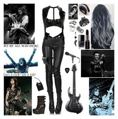 """""""Performing with Black Veil Brides ~ Show Four"""" by blueknight ❤ liked on Polyvore featuring Bordelle, Haider Ackermann, Comme des Garçons, Unearthen, First People First, Vivienne Westwood, Smashbox and BB Washed"""