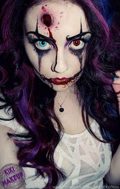 Clown - Kiki Makeup