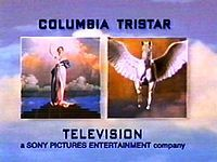 Columbia TriStar Television logo from mid-early-June 1996 to 2002 Sony Pictures Entertainment, Picture Company, Dragon Tales, Pbs Kids, Title Card, Studio Logo, Columbia Pictures, Childhood Memories, Picture Video