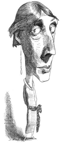 Virginia Woolf by David Levine