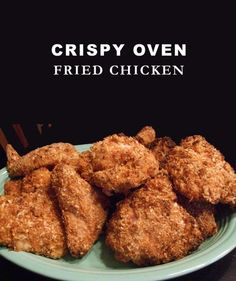 Crispy Oven Fried Chicken | Delicious Cooking