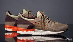 """Zapatillas Asics Gel Lyte V """"Scorpion Pack"""" Verde Naranja, ya puedes #compraronline en nuestra #sneakershop #ThePoint la nueva entrega de #Asics para esta colección #PrimaveraVerano2016, llamada #ScorpionPack y que viene presentando este potente colorway del modelo de zapatillas #AsicsGelLyteV, hazte con ellas clicando aquí, http://www.thepoint.es/es/zapatillas-asics/1464-zapatillas-hombre-asics-gel-lyte-v-scorpion-pack-verde-naranja.html"""