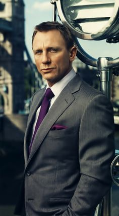 """James Bond"" always gets the best looking suits!"
