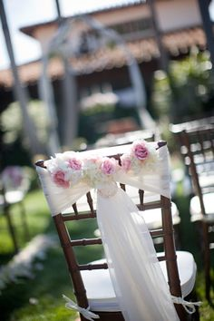 Beautiful Chair sashes