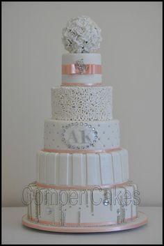 wedding cake 5 tiers