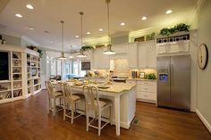 kitchen from the Little Big House Plan