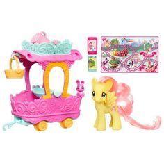 Amazon.com: My Little Pony Fluttershy's Nursery Train Car: Toys & Games