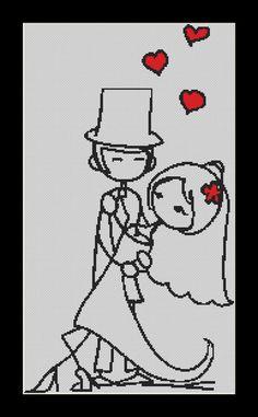 Dance The Night Away, wedding Cross Stitch Download pdf chart