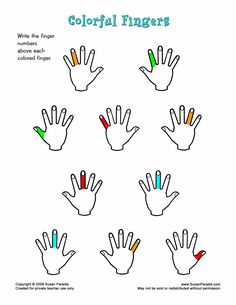 A reader asked if I would make a worksheet like this to give young students more reinforcement. It helped that she sent me an attachment of her idea. I turned it into Colorful Fingers. If you are a...