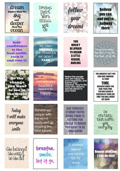 Inspiration Quotes for your Erin Condren by PlanningMadeEasy