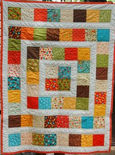 Stormy Days: 100 Quilts for Kids Link Up Party - 64 charms Jellyroll Quilts, Lap Quilts, Scrappy Quilts, Small Quilts, Sampler Quilts, Quilt Blocks, Charm Pack Quilt Patterns, Charm Pack Quilts, Charm Quilt