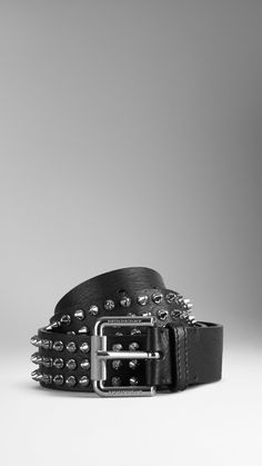 Studded Leather Belt | Burberry