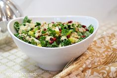 Kale and Farro #Salad with Lemon and #Chia #Dressing 15 Ways to Add Chia Seeds in Your #Diet | All #Yummy #Recipes
