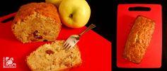 Cake de manzana, nueces y pasas